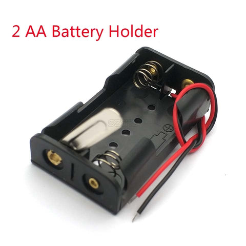 2x AA Battery Holder With Switch