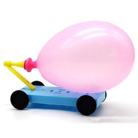 DIY Balloon Powered Car
