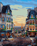 Beautiful City Paintings By Numbers