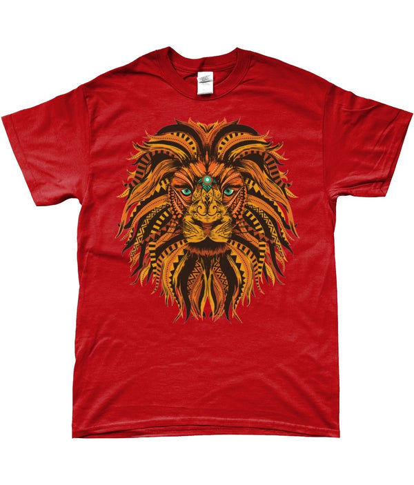 Green Eyed Lion Epic Fashion UK Unisex T-Shirt Cotton - Epic Fashion UK