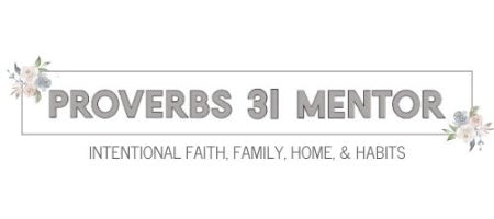 Proverbs 31 Mentor Shop