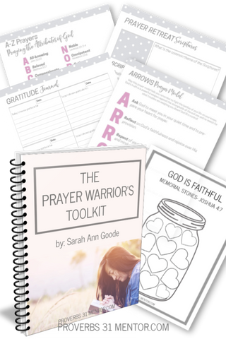 Prayer Warrior's Toolkit with Prayer Notebook Kit