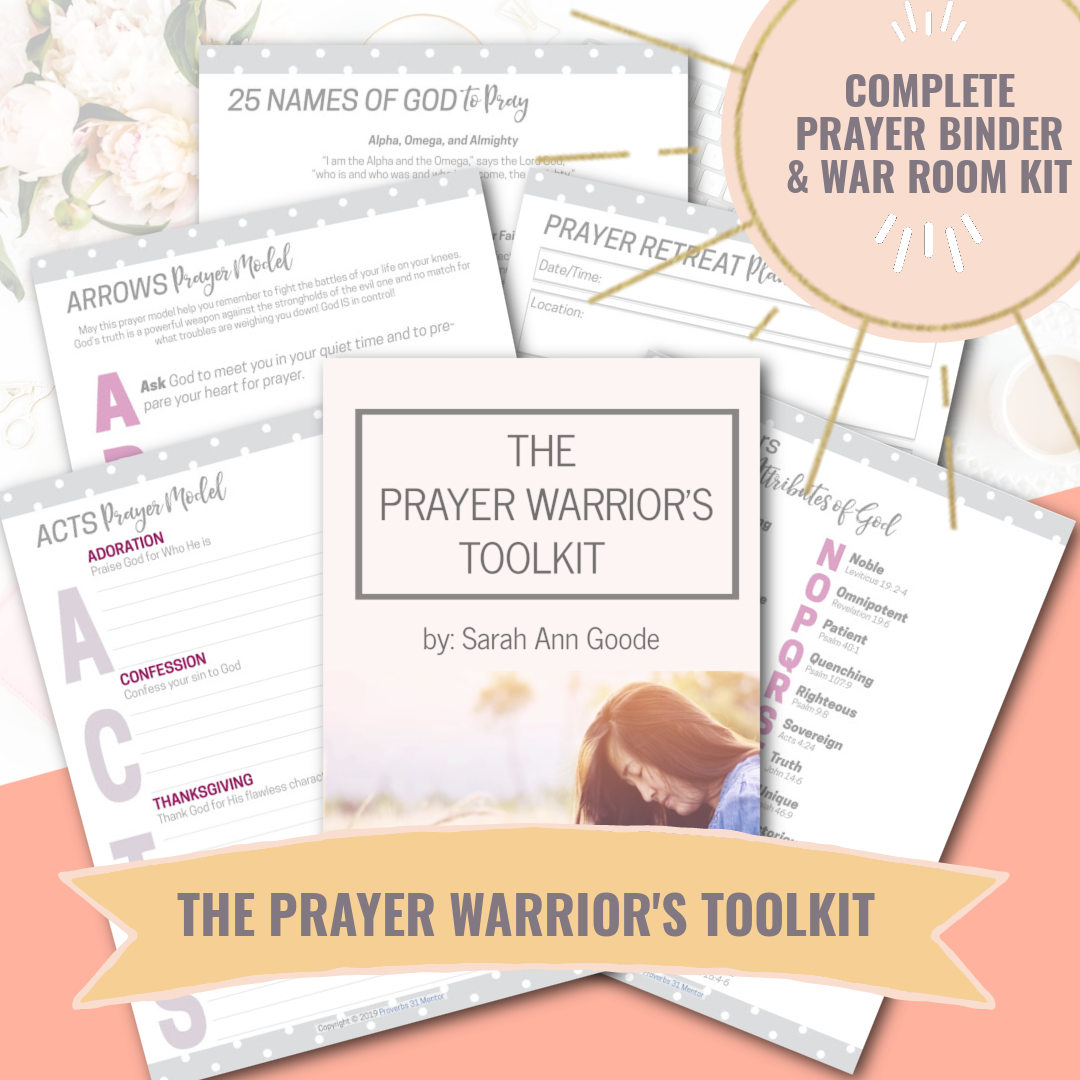 Prayer Warrior's Toolkit