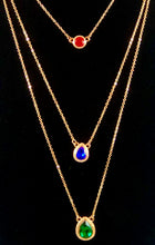 Load image into Gallery viewer, Three Layer Gemstone Necklace