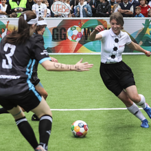 Load image into Gallery viewer, 1 x Soccer Ball w/ Global Goals by EIR™