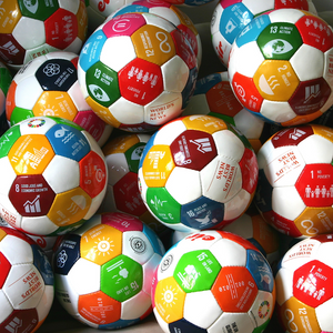1 x Soccer Ball w/ Global Goals by EIR™
