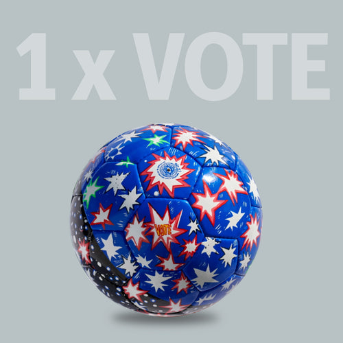 1 x VOTE Ball by Hope Gangloff