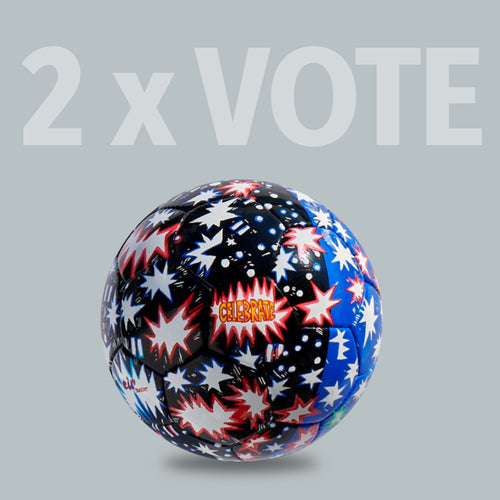 2 x VOTE Ball by Hope Gangloff