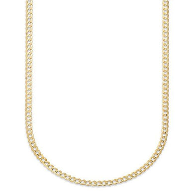 EMMA GOLD CURB CHAIN