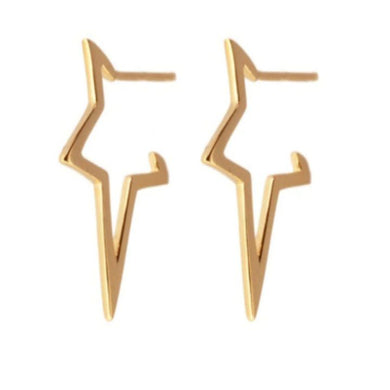 BABY STAR GOLD EARRINGS