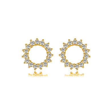 BLOSSOM GOLD EARRINGS