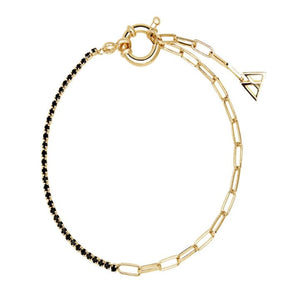 BLACK MIRAGE GOLD BRACELET