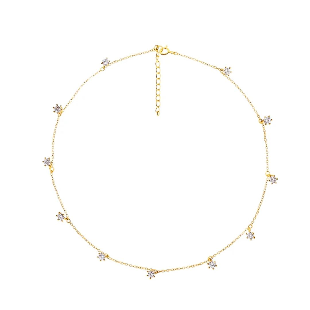 CHORD GOLD NECKLACE
