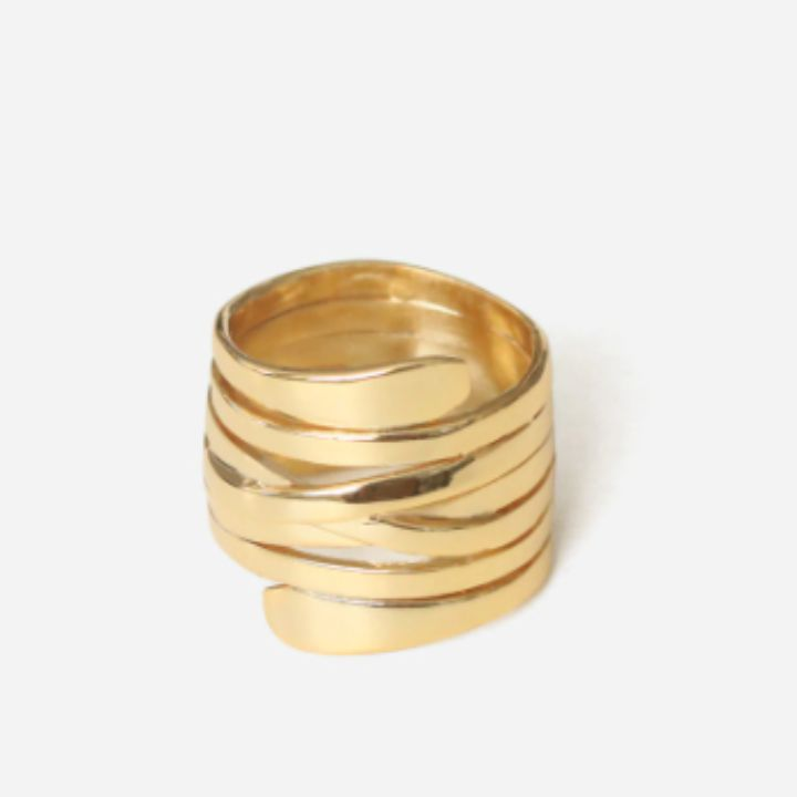 CONGO WRAP GOLD RING