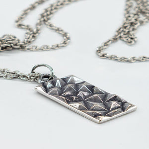 COLLANA RECTANGULAR NECKLACE