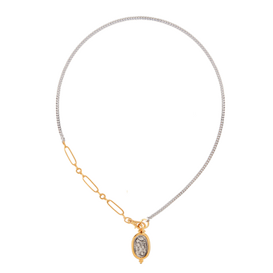 THE DEVOTION OVAL NECKLACE