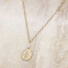 Load image into Gallery viewer, Holy Coin Necklace in Gold