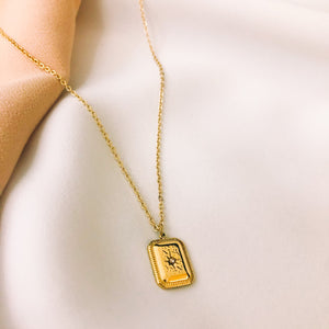 SPARK GOLD NECKLACE