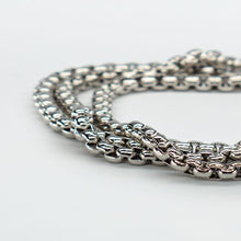 Load image into Gallery viewer, INOX TRIPLE BRACELET NECKLACE