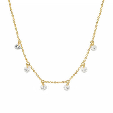 JASMINE GOLD NECKLACE