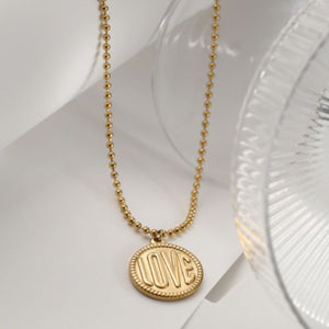 LOVERS GOLD NECKLACE