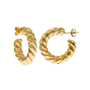 MADONNA GOLD EARRINGS