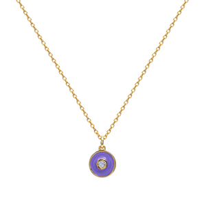 MALVA MAJEURE GOLD NECKLACE
