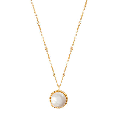 MANIFEST GOLD NECKLACE