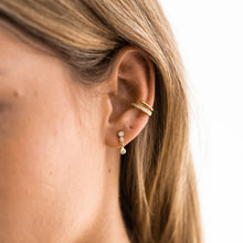 Load image into Gallery viewer, MARIE GOLD STUD EARRING