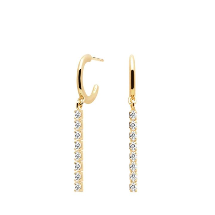 NAOMI GOLD EARRINGS