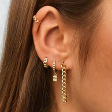 Load image into Gallery viewer, NOBA GOLD EARRINGS