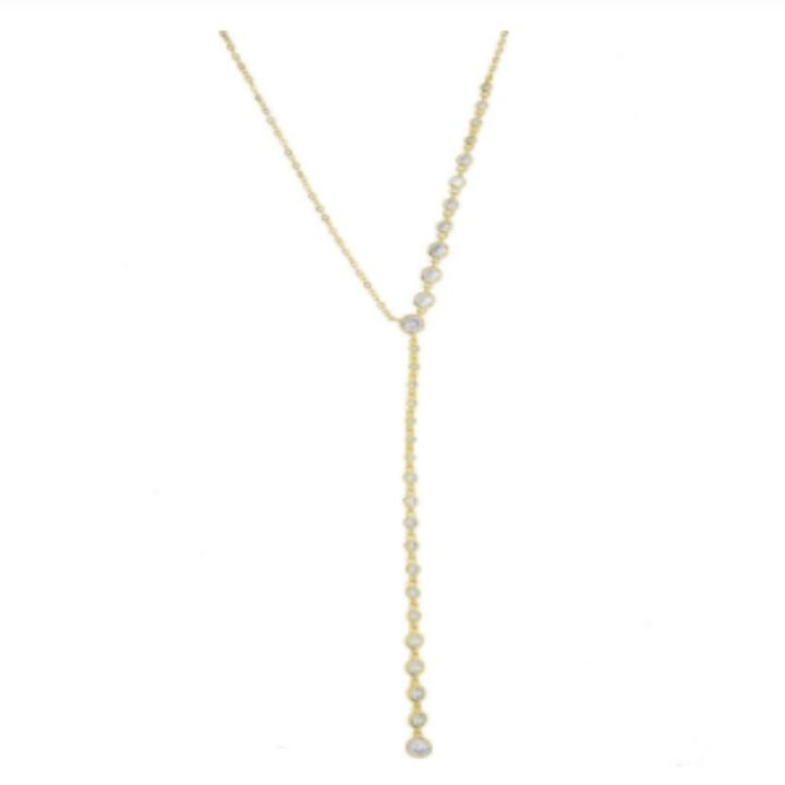 OPHELIA LARIAT NECKLACE