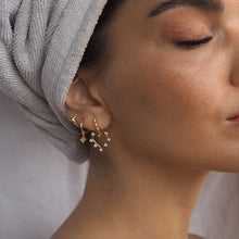 Load image into Gallery viewer, OUI GOLD EARRINGS