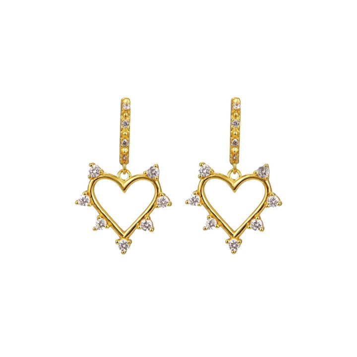 OUI GOLD EARRINGS