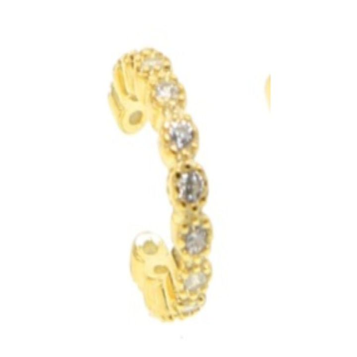 JAN PAVE GOLD EAR CUFF