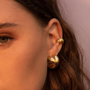 ROMEO GOLD EARRINGS
