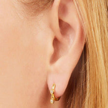 Load image into Gallery viewer, SIMPLE CREIN GOLD EARRING