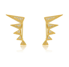 Load image into Gallery viewer, SLOANE SPIKE CRAWLER EARRING