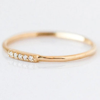 KITTY GOLD RING
