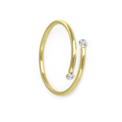 MINI TWIRL GOLD RING
