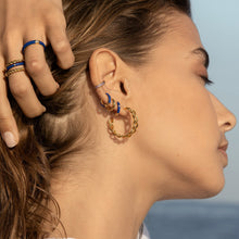 Load image into Gallery viewer, TEMPEST GOLD EARRINGS