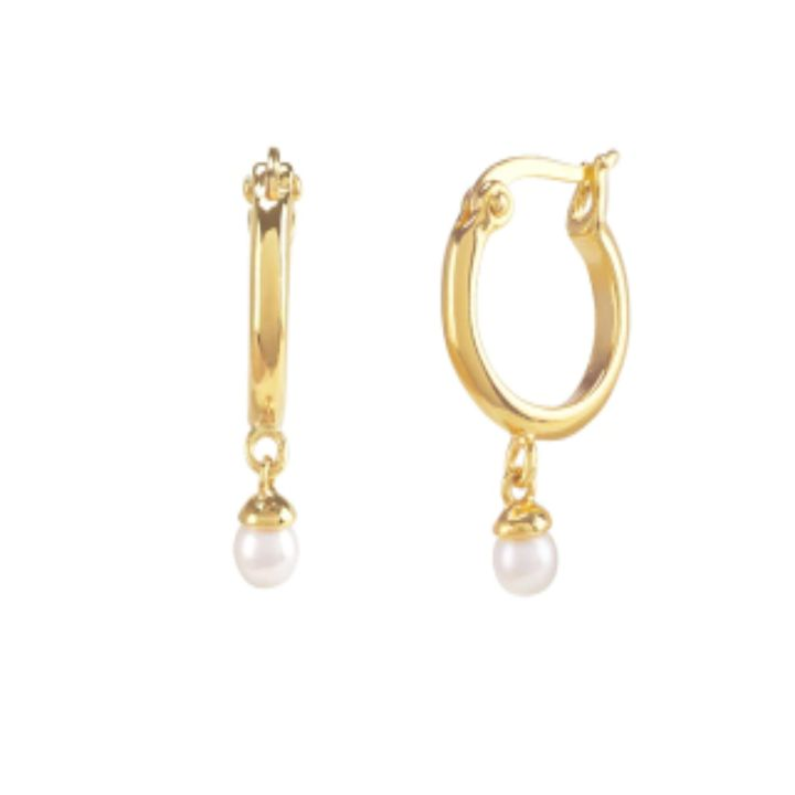 TINA GOLD EARRINGS