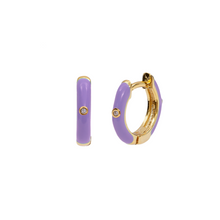 Load image into Gallery viewer, MALVA OHANA GOLD EARRINGS