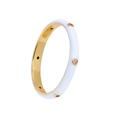 MILKY TRIBUTE GOLD RING