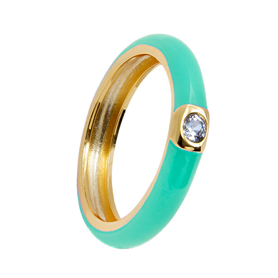 MINT ISOLATION GOLD RING