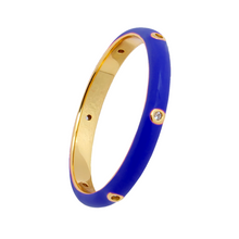 Load image into Gallery viewer, NAVY TRIBUTE GOLD RING