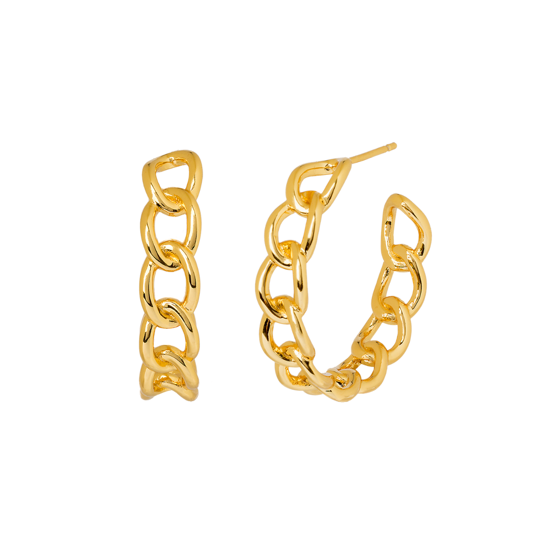 TEMPEST GOLD EARRINGS