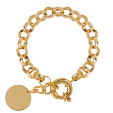 Load image into Gallery viewer, FEARLESS GOLD BRACELET