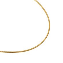 Load image into Gallery viewer, ROUND SNAKE CHAIN GOLD