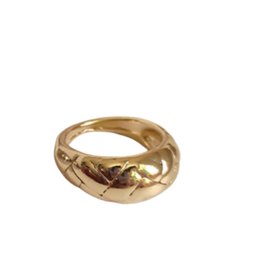 ALISA GOLD RING